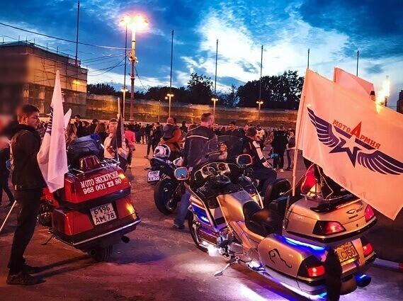 motorbike tour moscow